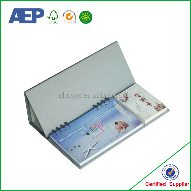 new design folding cheap costom made Calendar book 2016 on sale from factory