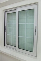 Foshan cheap house window for sale,Plastic sliding window for balcony,PVC replacement sliding glass window