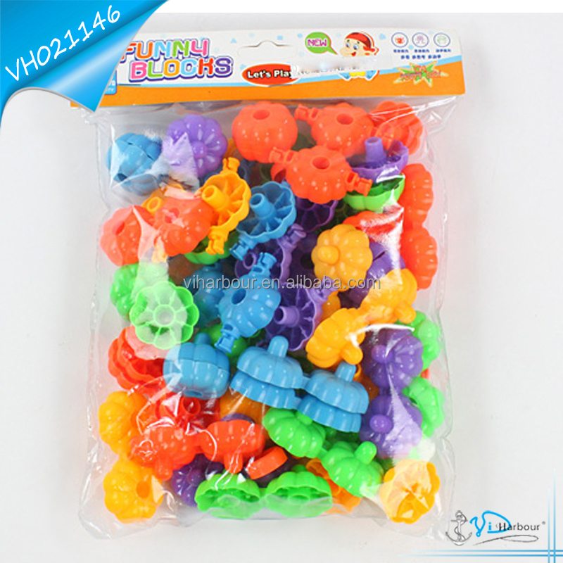 Pumpkin Building Blocks Toys 72pcs