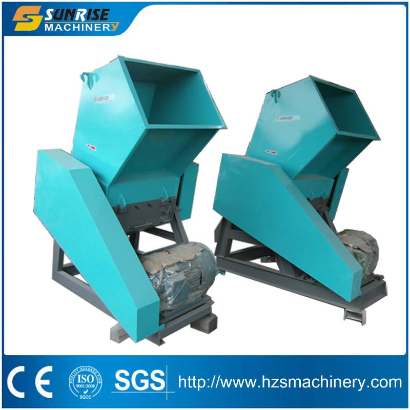PET plastic bottle crusher for plastic recycling line