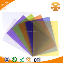 Inkjet printing folder PVC clear rigid sheet