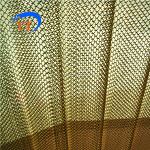 Aluminum Chain Link Curtain usded as doorway fly screen and room divider