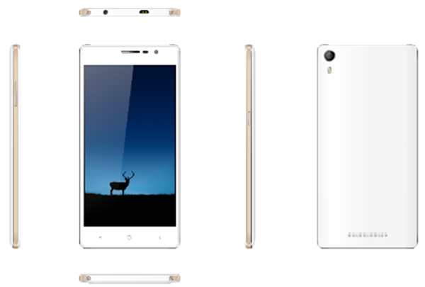 High end super slim android smart phone with big battery