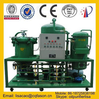 100% water removal automatic operation used engine oil recycling system