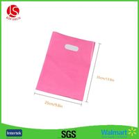 Women Cloth plastic shopping bag with logo printing