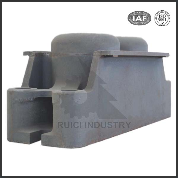 Cast iron resin sand casting ingot mould