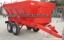 4 wheel tractor trailed fertilizer spreader lime spreader truck manure spreaders for sale