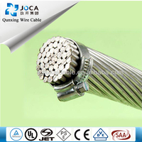 overhead aac/aaac/acsr/acar bare conductor electrical cable size