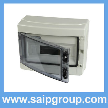 HA series 12ways HA-12Way waterproof plastic lighting distribution box / distribution board