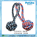 China Supplier Colorful Braided T-Shirt Cloth Rope Ball For Dog Chewing
