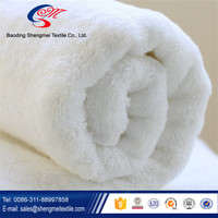 Hot sale china manufacturer of new design white hotel towel