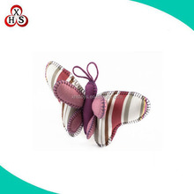 Cheap custom keychain plush butterfly stuffed toy