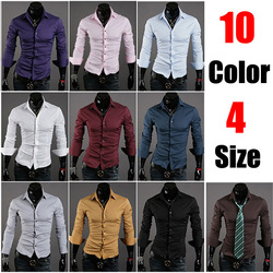 Discount walson mens long sleeve solid color slim fit dress shirt onenweb,latexst shirt designs for men