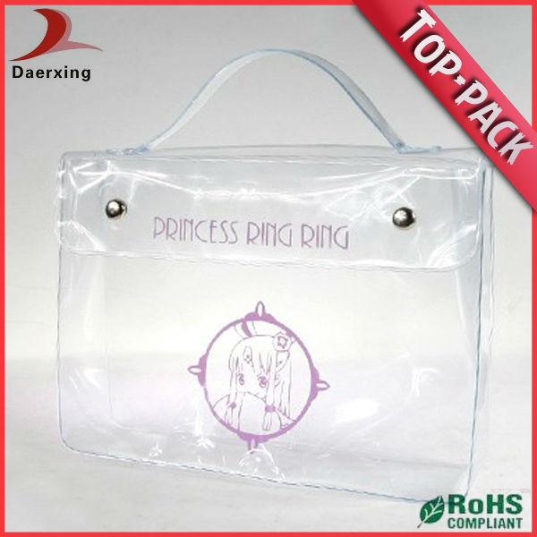 high quality pvc clear mini makeup bag