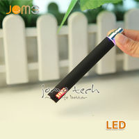 2014 china factory supplier best ego e cigarette variable voltage ego battery led