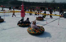 Hot 600D Oxford Cloth Adult Rubber Heavy Duty Inflatable Snow Sled Tubes in Stock.