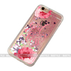 Custom printing liquid glitter bling quicksand mobile phone shell case for Apple iPhone 6 plus 5.5 inch phone cover for girls