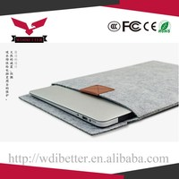 Laptop Case Leather Sleeve Bag For Macbook 11 13 15""