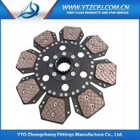 Heavy Duty Truck Spare Parts, Tractor Clutch Disc For Benz