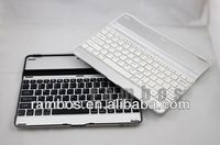 High Quality Aluminum Alloy Wireless Mini Bluetooth Keyboard for iPad 2 3 4