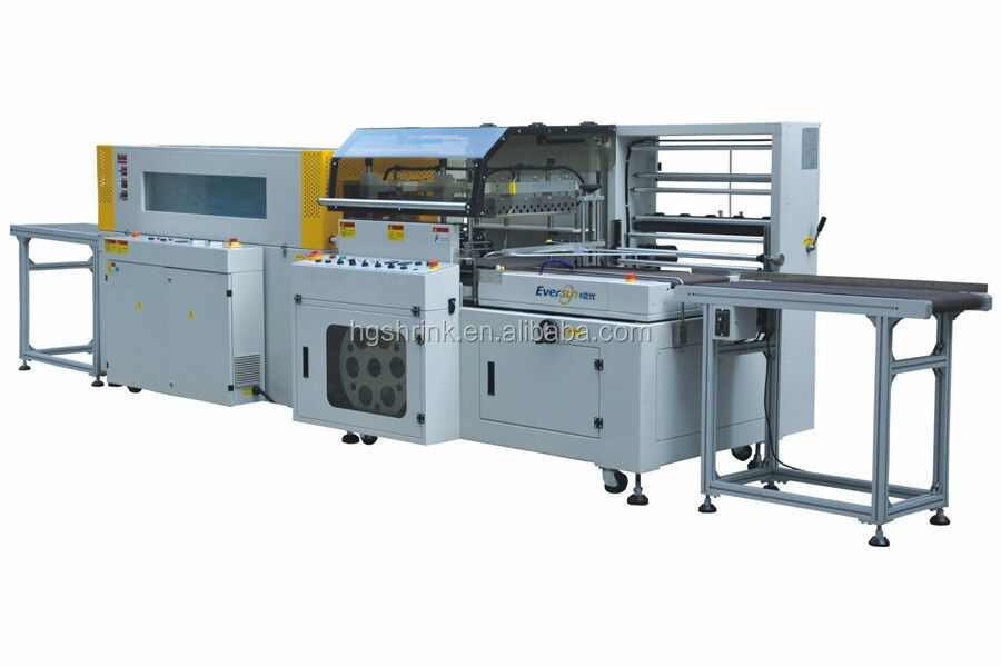 fully closed L bar Sealer and shrink Packing Machine