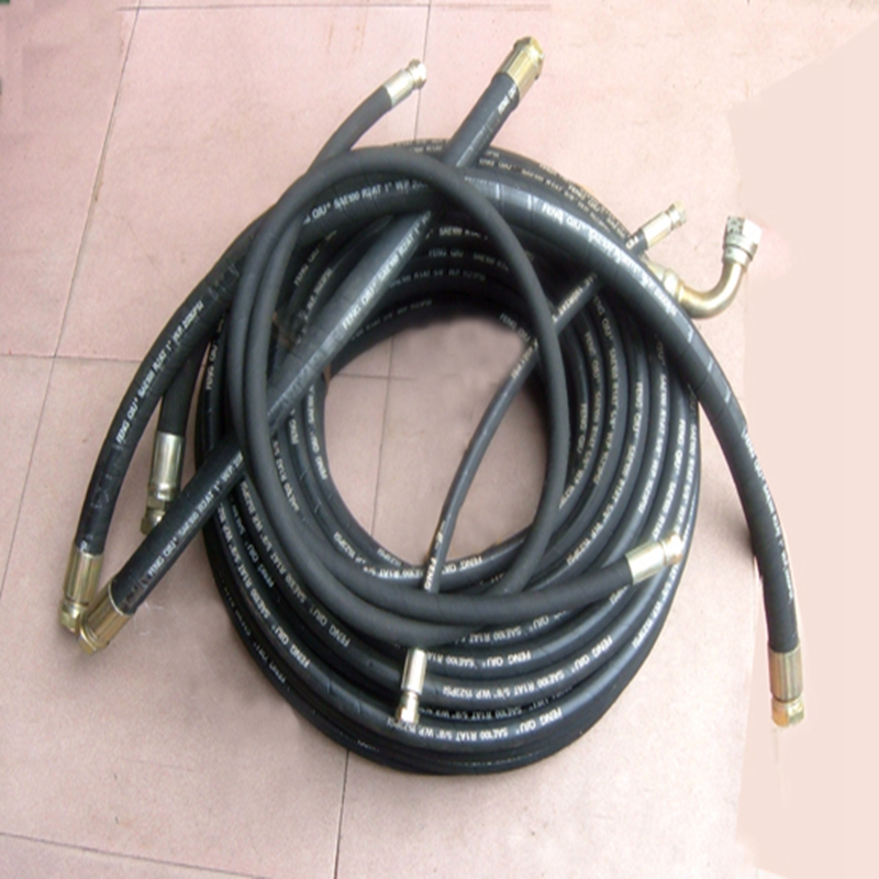 popular high pressure oil resistant hydraulic rubber hose price