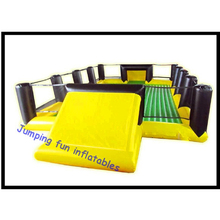 JPF inflatable soap football field/soap soccer pitch JPFFTB017