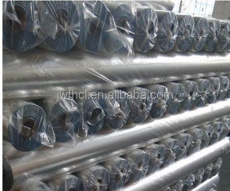 Anti-static aluminum foil packaging material/alu white pe electornics packing