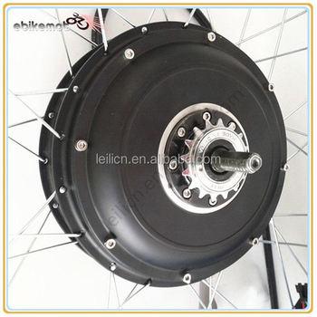 High speed 3000watts electric motor hub 3kw hub motor dc for 3kw brushless dc motor