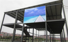 China Photo P8 outdoor advertising led display screen smd3535 led strong style color and board strong 6500 CD