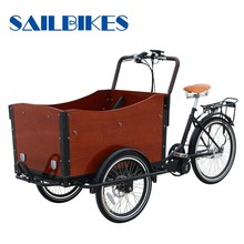 2016 New Design Tricycle Electric Cargo Bike For Sale