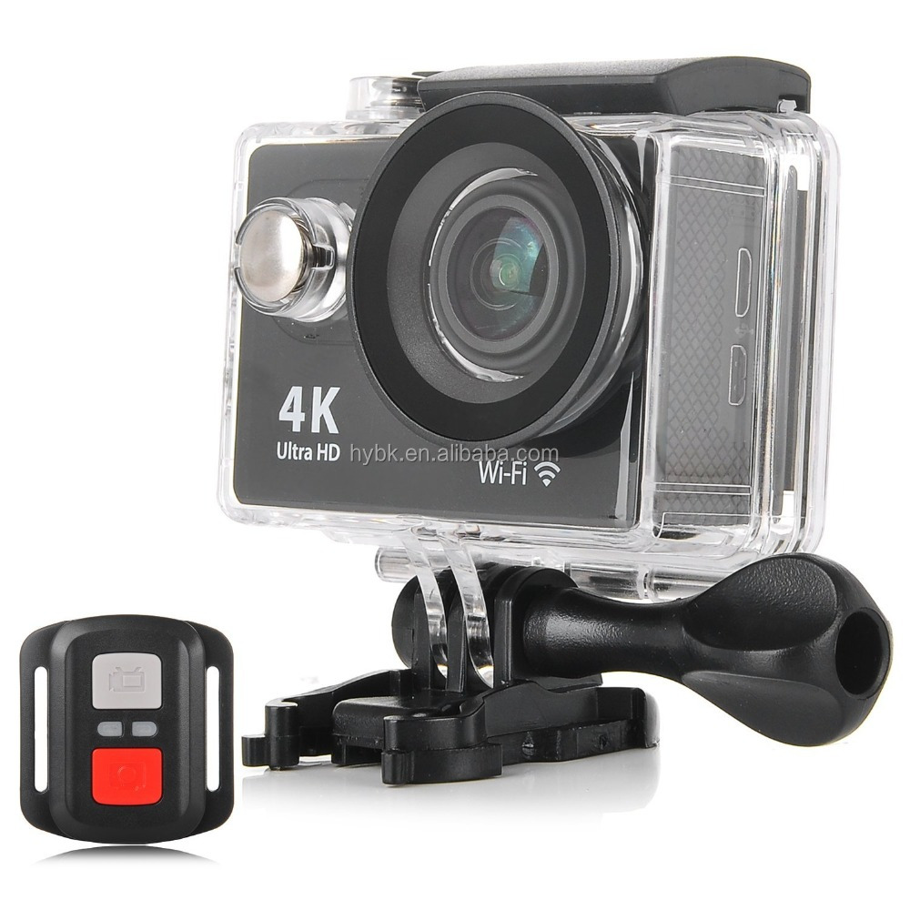 2.4G remote control wifi xiaomi yi 4k action camera dual screens sports hd dv 1080p h264 mini camera wifi H9R