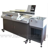 Best sales High Quality 60R Glue binding machine with C68 creaser