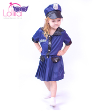 Childrens kids police dress up fancy dress costumes