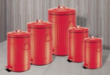 China wholesale market agents bulk metal trash cans