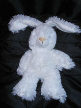 Little Miracles White Baby Bunny Rabbit plush animal 12""