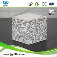 Light Weight EPS Cement Sandwich Panel with cement fibre board facing Panel