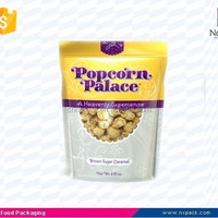 Plastic Popcorn Packaging Stand Up Pouch