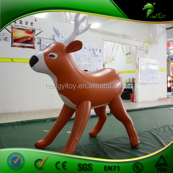 Best Price Custom Made Inflatable Reindeer / Christmas Outdoor Inflatable Reindeer / Self Inflated Lovely Caribou