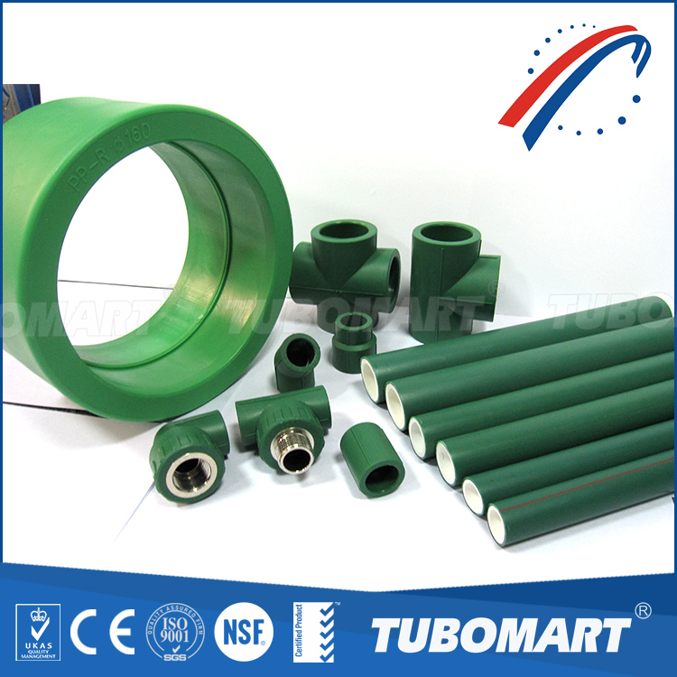 International standard water pipe best sale ppr pipe price with ppr fittings
