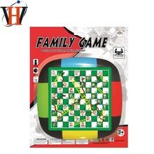 Plastic toy board game pieces chess game for children