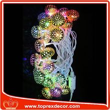 China supplier led light magic spinning ball