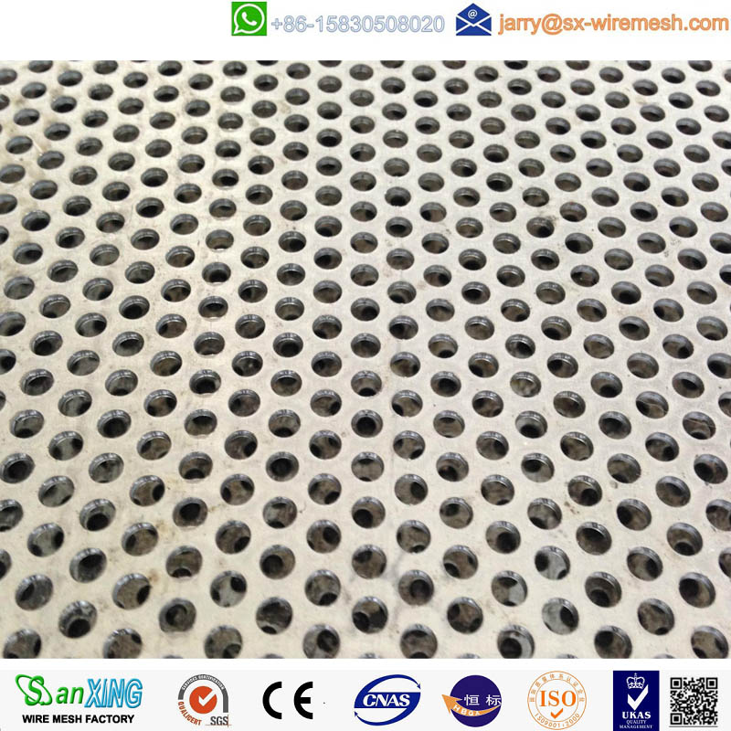 Aluminum perforated metal panel