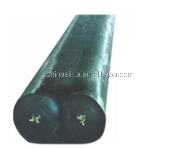 pneumatic tubular forms used for manufacturing concrete culvert formwork