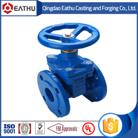 DIN 3352 F4 cast iron stem gate valve with prices