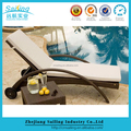 Popular All Weather 100% Handmade Pool rattan lounge chair