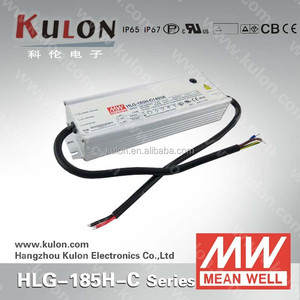 Meanwell HLG-185H-C700A 185w 700mA Constant Current and UL CE EMC ENEC LED Power Supply