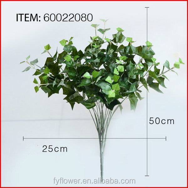 High quality Best-Selling artificial plastic leaves decoration