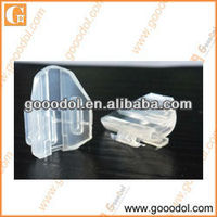 OEM clear silicone rubber parts from rubber factory