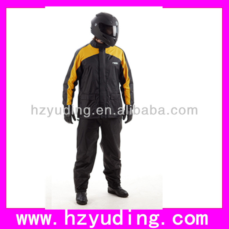 2014 New style fashion high qualiy polyester 170t men raincoat with your logo